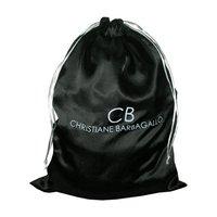 Satin Drawstring Bag With Customized Logo Print