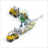 Conveyor Palletizer System