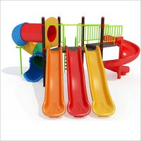 Delight Play Series Multiplay Station Playground Equipment