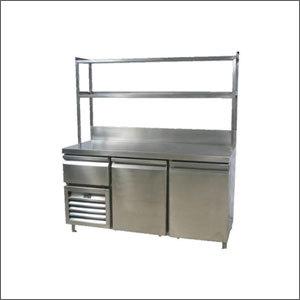 Under Counter Refrigerator And Deep Freezer