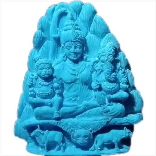 Shiv Ji Designer Carved Semi Precious Stone