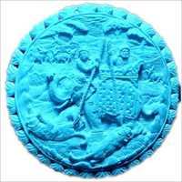 Round Shape Carved Semi Precious Stone