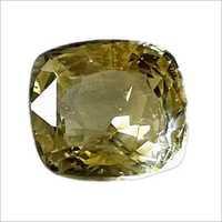 Square Yellow Sapphire Gemstone