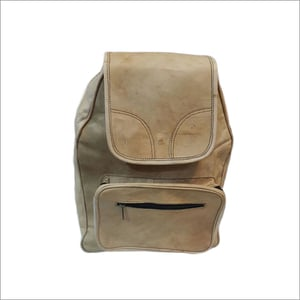 Leather Casual College Bag