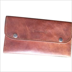Two Buttons Ladies Wallet