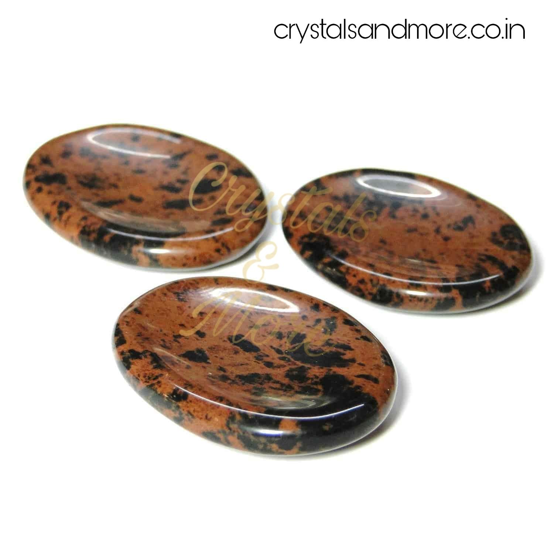 Mahaguni Obsidian Worrystone
