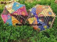 Decorative Embroidered Umbrella