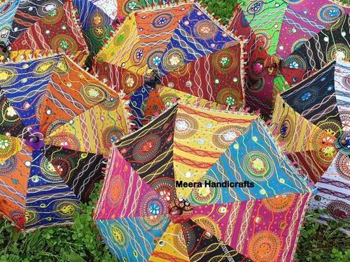 Jaipuri Hand Embroidered Umbrella