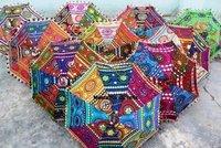 Rajasthani Decorative Embroidered Umbrella