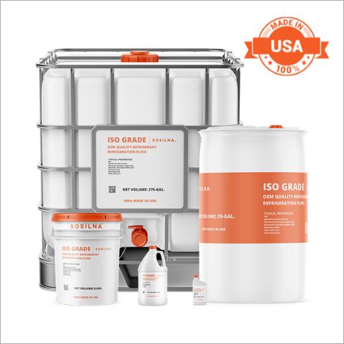 High-Efficiency Ammonia Refrigeration Compressor Fluid