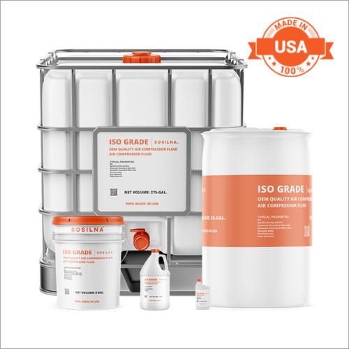 Semi Synthetic 4000 Hour Compressor Fluid