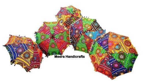 Handmade Printed Decorative Umbrella