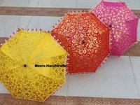 Indian karigari  Traditional Embroidered Umbrella