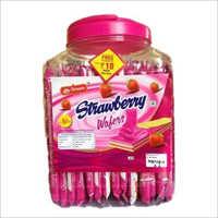 Tasty Strawberry Wafers