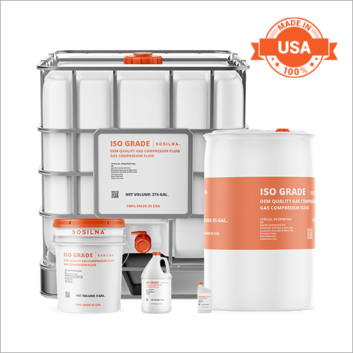 Ester Gas Compressor Fluid