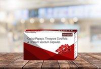 Carica Papaya Tinospora Cordifolia Tablets
