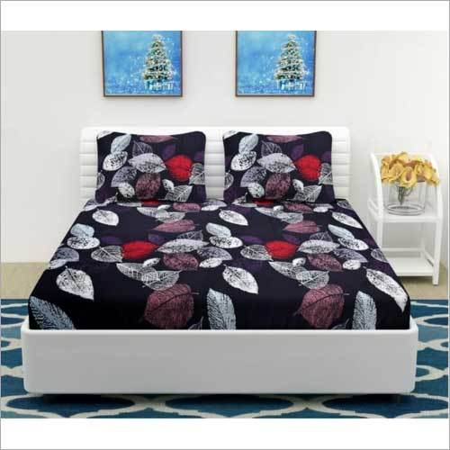 Glace Cotton Printed Bed Sheets