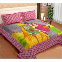 Designer Poly Cotton Bed Sheets