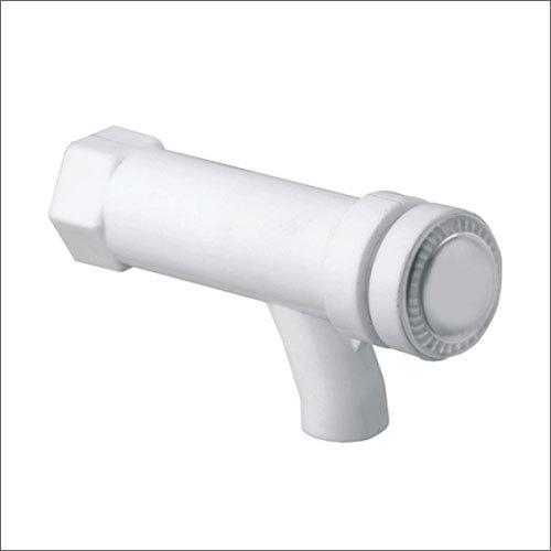 White Plastic Push Cock