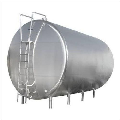SS Horizontal Storage Tank