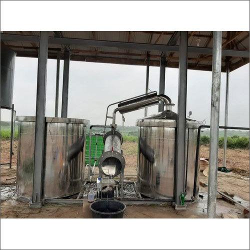 Industrial Steam Distillation Plant