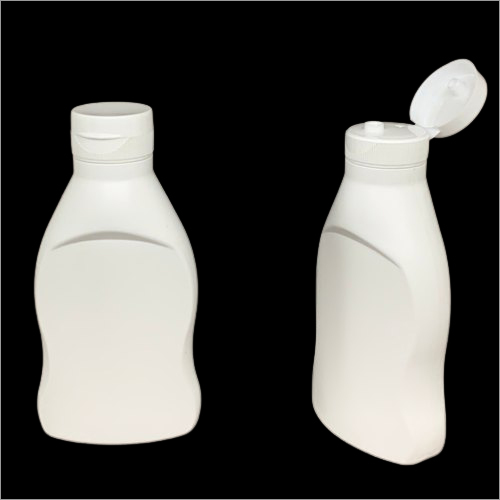 500ml HDPE Chocolate Syrup Bottle