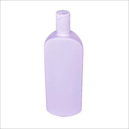100ml White Oval Shaped Bottle