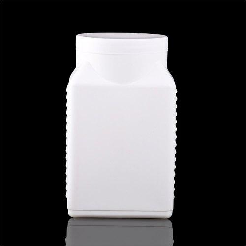 HDPE Ribbed Square Jar