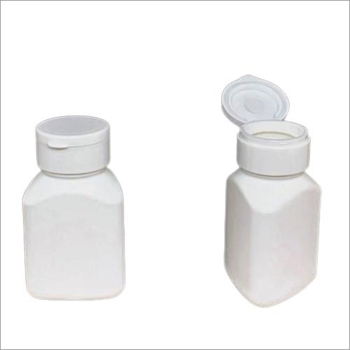 HDPE Triangular Capsule Bottle