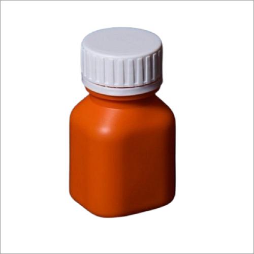 HDPE Square Capsule Bottle