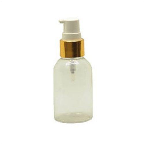 Transparent Round Bottle