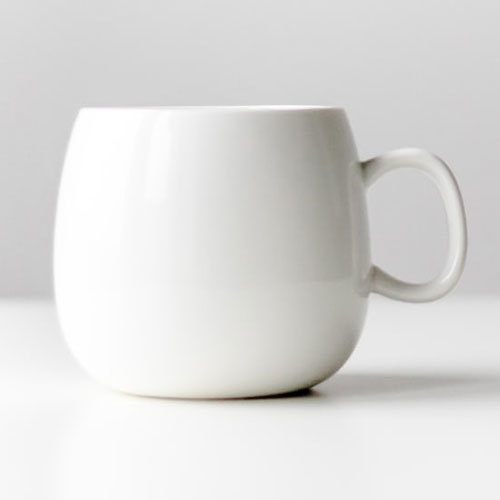 Plain White Coffee Mug