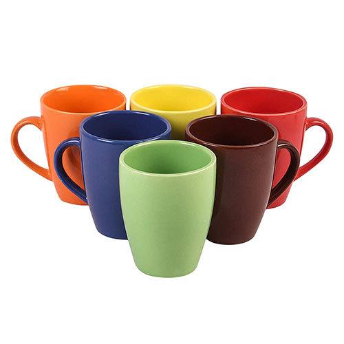 Multicolor Ceramic Coffee Mugs