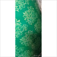 Green and Red colour Flower Design
