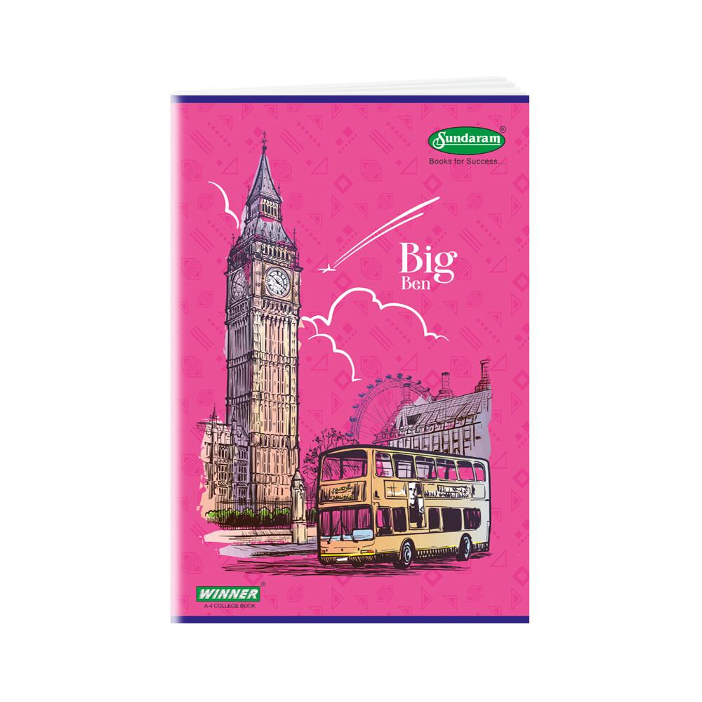 Sundaram Winner A/4  Book - 172 Pages (C-11)