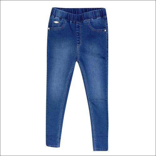 Ladies Plain Jegging With Pocket