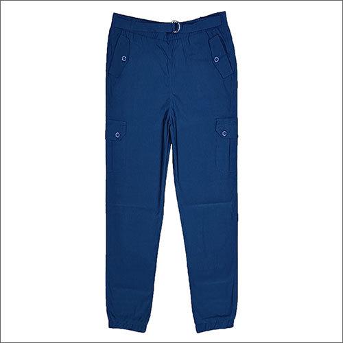Ladies Navy Blue Jogger Pants