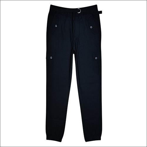 Ladies Black Jogger Pants