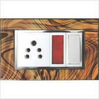 Wood Texture Modular Plates