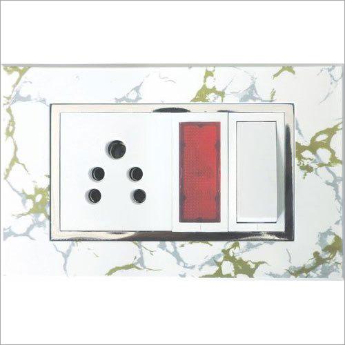 White Marble Modular Plates
