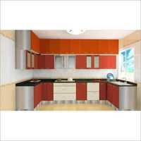U-Shaped Modern Kitchen Interior Designing Service