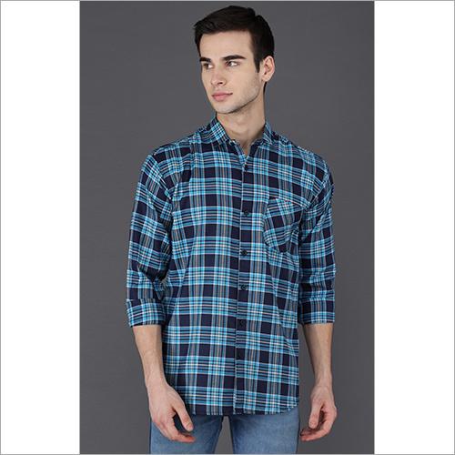 Blue Checks Shirt