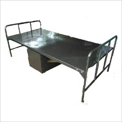 Steel Cot Bed With Storage Box