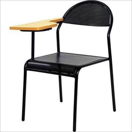 Writing Pad Metal Chair