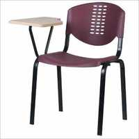 Plastic Molded Writing Pad Student Chair