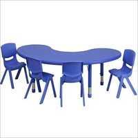 Blue Moon Shape Table