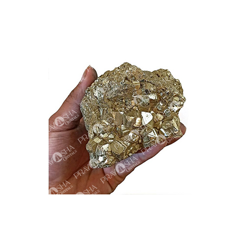 Prayosha Crystals Pyrite Cluster