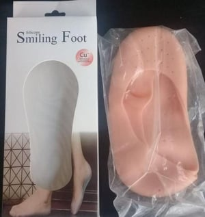 Silicone Smiling Foot Pad