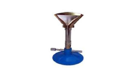 Bunsen Burner With flame splendor Brass c.p. valve type