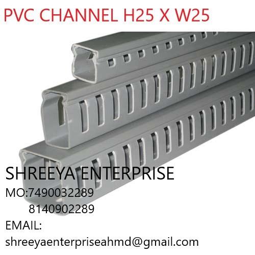 ELECTRICAL CHANNEL PVC CHANNEL H25 X W25